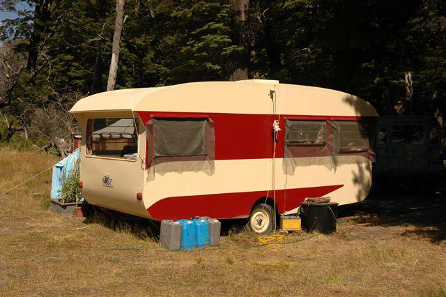 The Caravan at the Campsite
