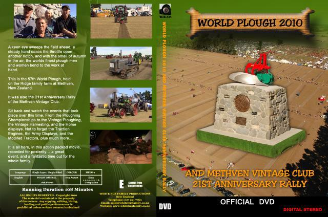 WORLD PLOUGH 2010 DVD